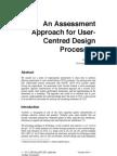 User Centered Design Assessment by Jokela