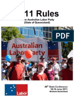2011 Rules of the Australian Labor Party (State of Queensland)