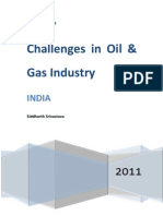Challenges in the Oil & Gas Industry