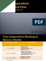 Slurry Non Newtonian Flow Rheology