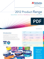 Verbatim Product Catalogue Feb 2012