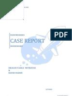 Fluid Mechanics Case Report