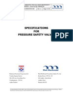 10_254625-300-SP-InT-027 Specifications for Pressure Safety Valve Rev A