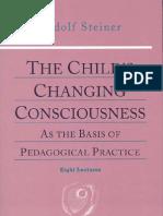 Rudolf Steiner, Childs Changing Consciousness
