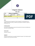Syllabus - Shkenca Kompjuterike 1 (Shqip)