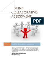 Online Collaborative Assessment