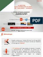 Combien de Français connaissaient les résultats de l'élection présidentielle avant 20h - Mai 2012