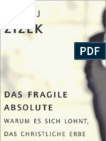 Zizek Slavoj. Fragile Absolute