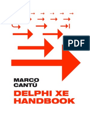 Delphi XE eHandbook | Version Control | System Software