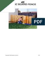Basic Board Fence