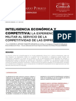 Inteligencia Económica y Competitiva