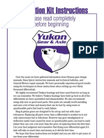 Yukon Dana Ring & Pinion Installation