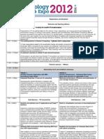 Agenda q112 Stg Techexpo Public v1.6