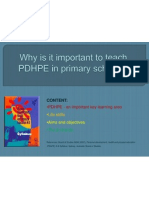 Why is It Important to Teach PDHPE In