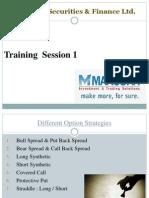 Different Option Strategies (1)