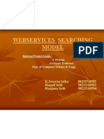 Web Service Searching Models