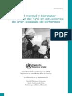 OMS - La Salud Mental y El Bienestar Psicosocial Del Nino