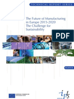 The Future of Manufacturing in Europe 2015-20