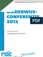 ROC Onderwijsconferentie 2012 Def
