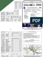Rudy Project 2012 Start Sheet
