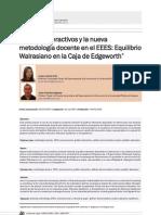 Equilibrio Walrasiano Micro