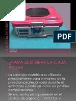 Caja Roja de Obstetricia y Carro Rojo
