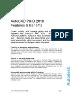AutoCAD P&ID 2010 F&B