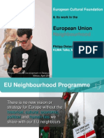 Philipp Dietachmair_ECF and its work in the EU Neighbourhood