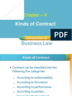 Chapter - 2 Kinds of Contract