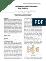 Application of CI in Motor Modeling
