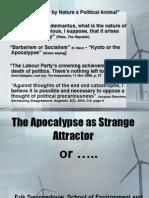 Swyngedouw the Apocalypse as Strange Attractor