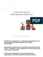 Effectivenss of Performance Appraisal