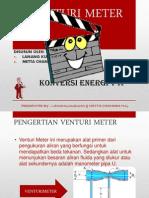 Venturi Meter Presentasi Lanang n Metta
