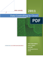 Data Controlling in Cloud
