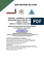 Jornadas Académicas Nacionales de Educación Física, Deporte, Actividad Física y Salud