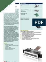 Components para impressora, com cabeças XAAR1001