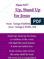 477 - Stand Up Stand Up for JESUS