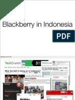Blackberry in Indonesia