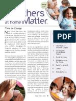 MAHM Newsletter Spring 2012