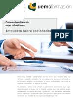 Curso universitario de especialización en Impuesto sobre sociedades