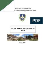 Plan Anual 2008