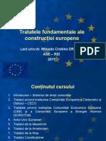 Tratatele Fund Amen Tale Ale Constructiei Europene