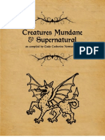 Creatures Mundane & Supernatural
