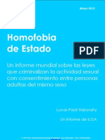 ILGA Homofobia de Estado 2012