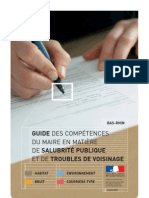 Salubrite Publique - Troubles Voisinage - Guide Maire