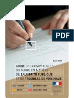 Salubrite Publique - Troubles Voisinage - Guide Maire