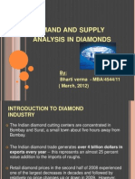 Demand and Supply Analysis in Diamonds
