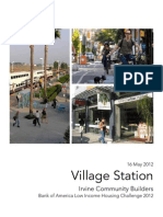 UCI Bank of American Low Income Housing Challenge 2012 - Village Station