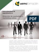 Curso universitario de especialización en dirección de marketing y marketing Online
