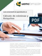 Curso universitario de especialización en Cálculo de nóminas y finiquitos